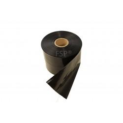LDPE-Schlauchfolie Folienschlauch 100mm 100µ schwarz opak (250m Rolle)