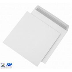 Briefumschläge quadratisch 162x162mm weiß o. Fenster hk (500 St.)
