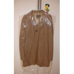 Kleiderschutzhüllen mit Bügelschlitz 600x600mm 12my Karton á 1400 Stück SONDERANGEBOT