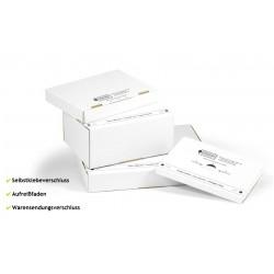 Kartons Maxibriefkarton Packbiene®Magic 315x225x90mm weiss (50 Stück)