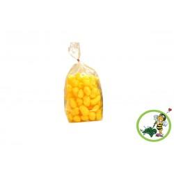 Sonnengelbe Biobiene® Verpackungschips (200 Liter) im Spendekarton