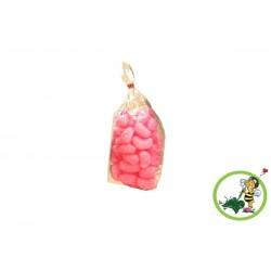 Pinke Biobiene® Verpackungschips (200 Liter) im Spendekarton