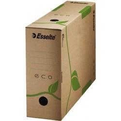 Archivbox ECO A4 10x32,7x23,3cm naturbraun FSC Wellpappe RC 25 Stück