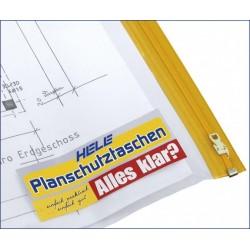 Planschutztasche PE A3 32 x 44 cm transparent Pckg. á 10 St.