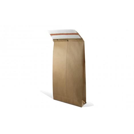 Textilversandtasche für Hin-und Rückversand aus Kraftpapier