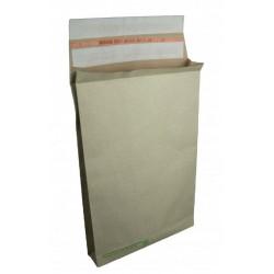 Versandtasche mit Bodenfalte aus Graspapier