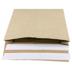 Graspapier Versandtaschen mit doppeltem Haftklebestreifen