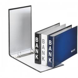 Bankordner LEITZ Ringbuch Bank 2-Ring-Mechanik Ring-Ø 20 mm blau (6 Stück)