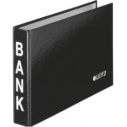 Bankordner LEITZ Ringbuch Bank 2-Ring-Mechanik Ring-Ø 20 mm schwarz (6 Stück)