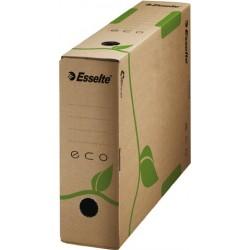 Archivbox ECO A4 8x32,7x23,3cm naturbraun FSC Wellpappe RC  25 Stück