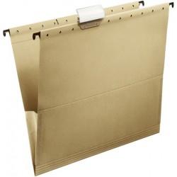 Hängemappe Tasche DIN A4 230g mit Leinenfröschen + Reiter 25 Stück
