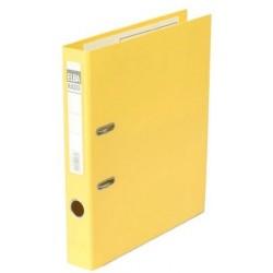 """Ordner Elba Rado Plast DIN A4 """"gelb"""" 5cm Rücken (5 Stück)"""