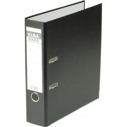 Ordner Elba Rado 10417 A4 Rückenschild einsteckbar schwarz 8cm
