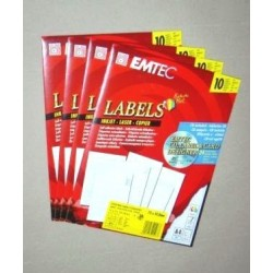 ETIKETTEN WINDOWS SOFTWARE Emtec  SONDERANGEBOT